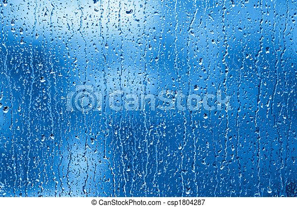 Rainy Window - csp1804287