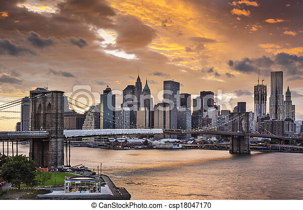 New York City - csp18047170