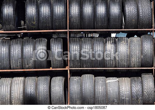 Used tires - csp1805087