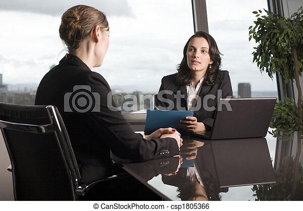 Job Interview - csp1805366