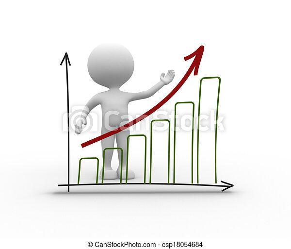 Chart financial. Success  - csp18054684