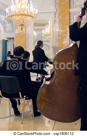 the concert of the classical music - csp1806112