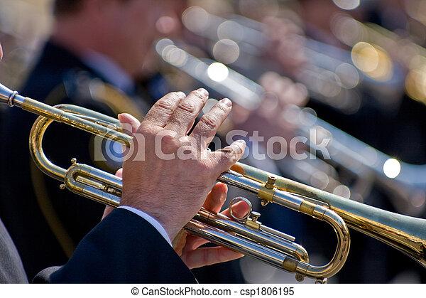 Trumpeters - csp1806195