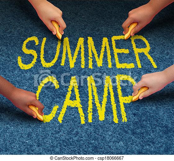 Summer Camp - csp18066667