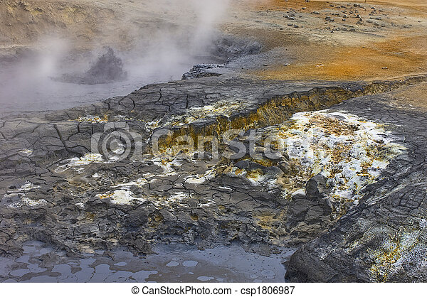 mud pools - csp1806987