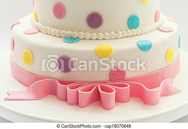 Birthday cake - csp18070648