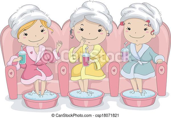 Teen Girls Spa - csp18071821