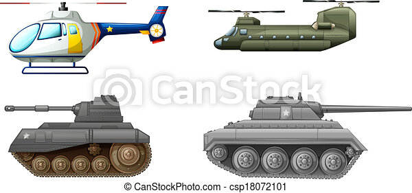 Transportation equipments at the battlefield - csp18072101