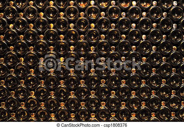 Wine bottles - csp1808376