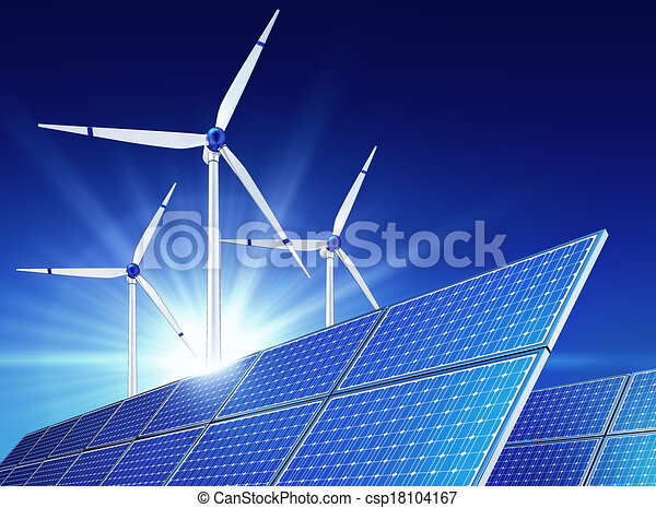 green energy - csp18104167