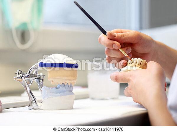 dental dentist objects - csp18111976