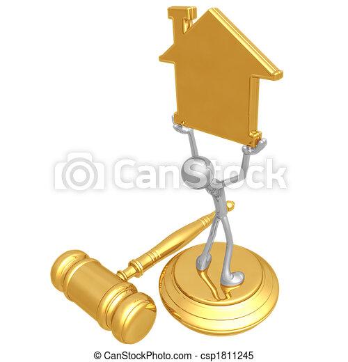 Property Law - csp1811245