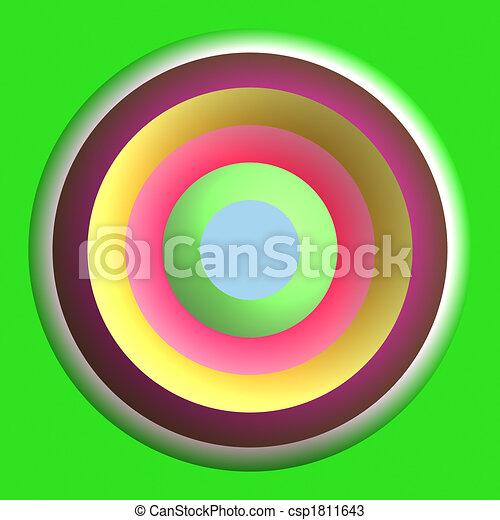 Color, círculos - csp1811643