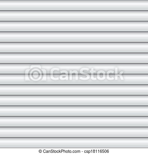 Vector Clipart Of White Window Blinds Shade Csp18116506