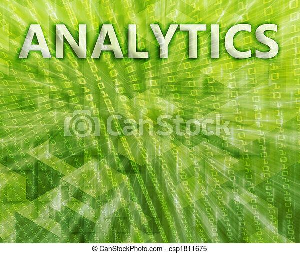 Analytics illustration - csp1811675