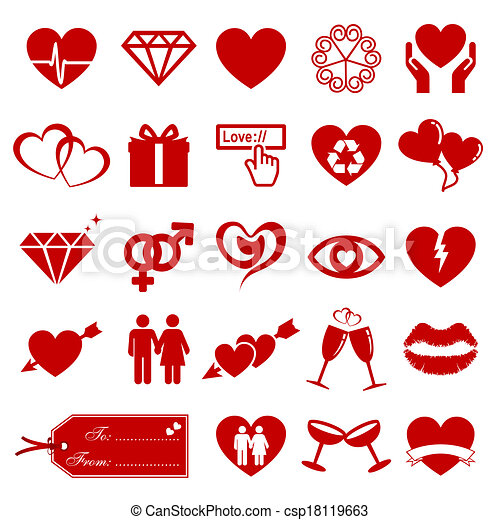 Valentine's Day Element - csp18119663