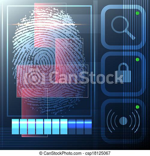 Security system - csp18125067