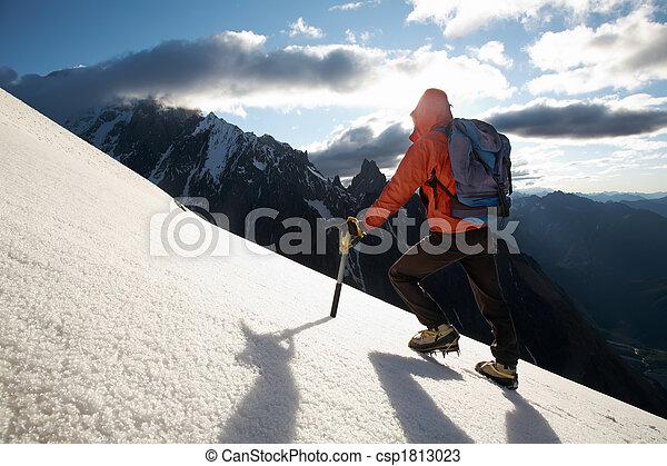 Mountain climber - csp1813023