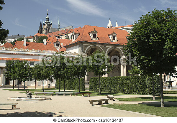 Photographies de prague jardin wallenstein les prague for Jardines wallenstein