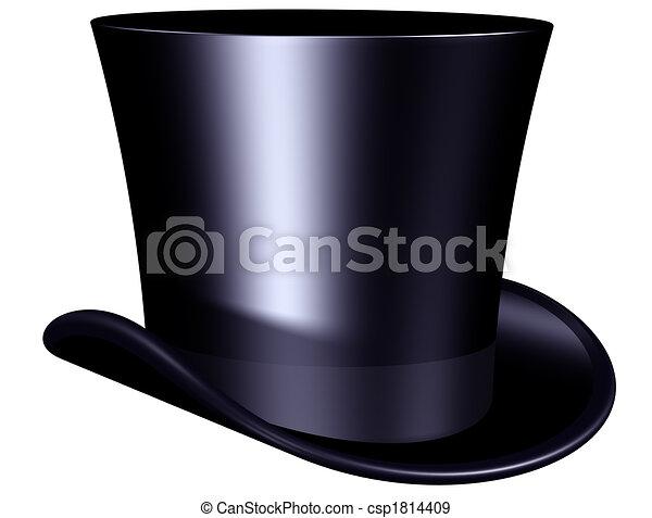 Elegant top hat - csp1814409