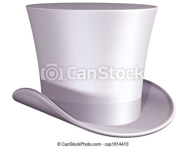 Top hat for a wedding - csp1814410