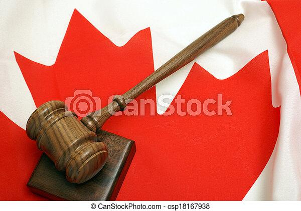 Canadian Law - csp18167938