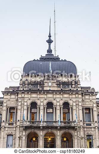 Government Palace in Tucuman, Argentina. - csp18180249