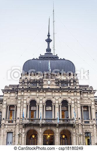 Government Palace in Tucuman, Argentina. - csp18180249
