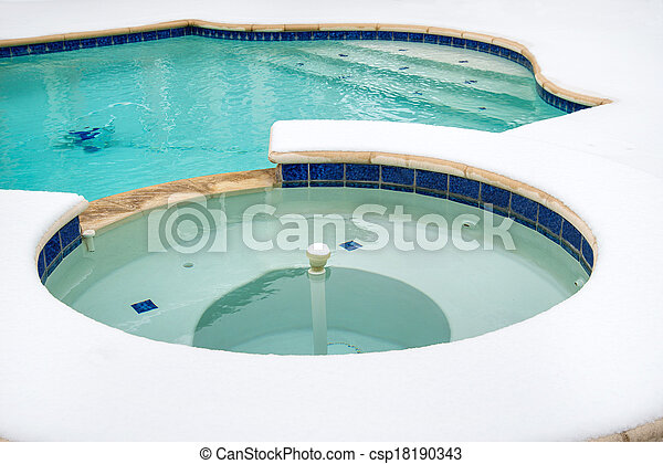Outdoor Spa Tub Clip Art