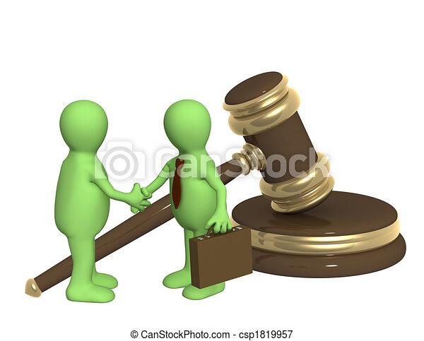Successful decision of a legal problem - csp1819957