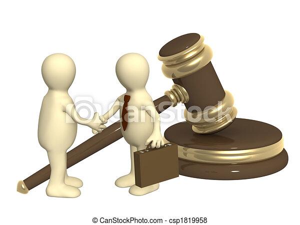Successful decision of a legal problem - csp1819958