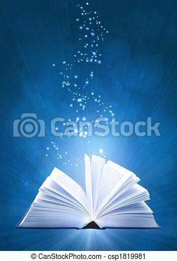 Magic book - csp1819981
