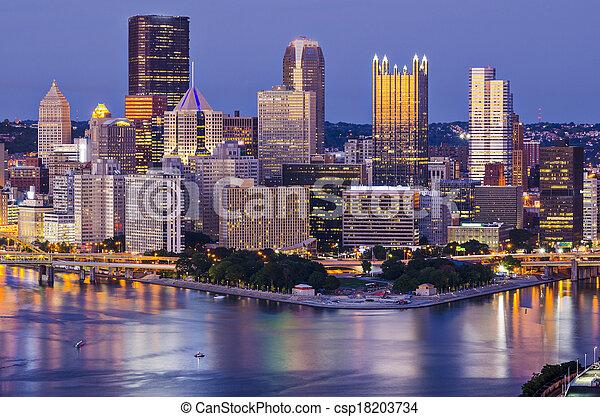 Pittsburgh - csp18203734