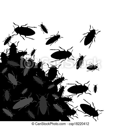 Clipart di insetti mazzo di nero errori del software for Disegni e prezzi del mazzo