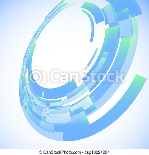 Abstract illustration with space for your business message - csp18221284