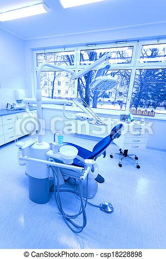 Dental office, equipment - csp18228898