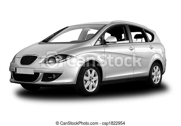 Auto, familie - csp1822954