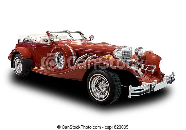 antiquité, voiture - csp1823005