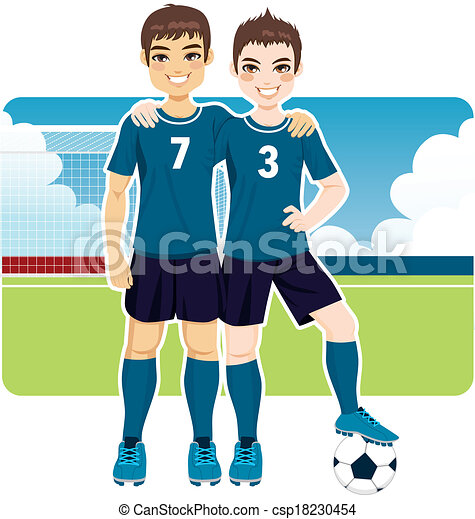clipart vector of soccer team friends two soccer team Girl Soccer Player Clip Art Free soccer player clipart free