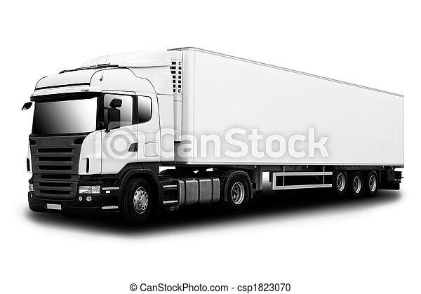 Semi Truck - csp1823070