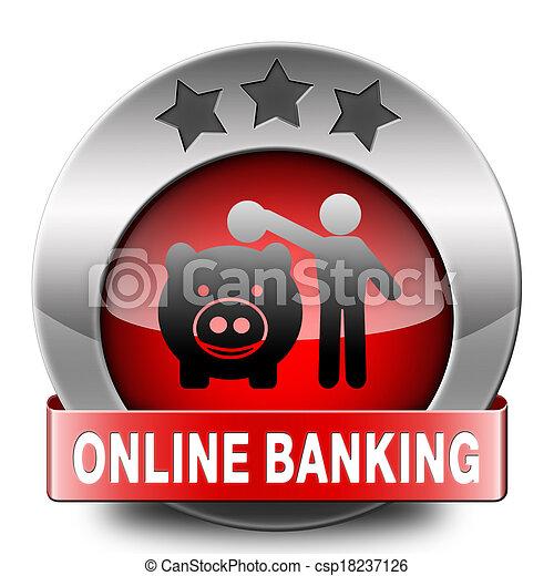 onine banking - csp18237126