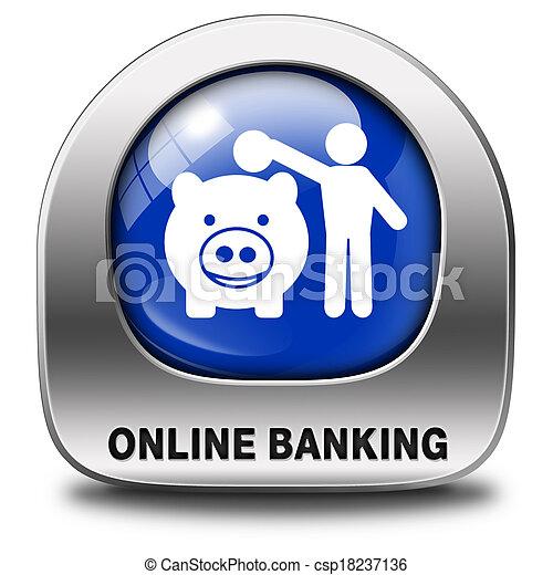 onine banking - csp18237136
