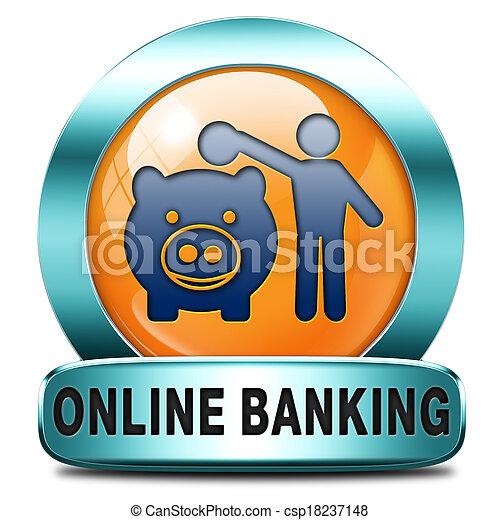 onine banking - csp18237148
