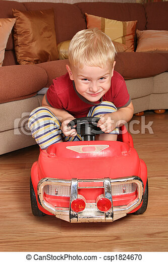 boy car toy - csp1824670
