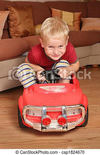 boy car toy - csp1824670