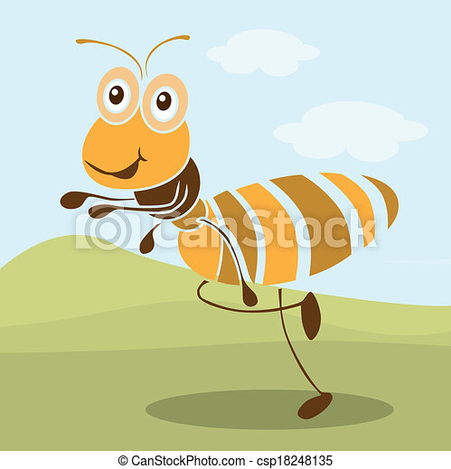 Cute Ant Logo Vector Very Cute Ant Cartoon