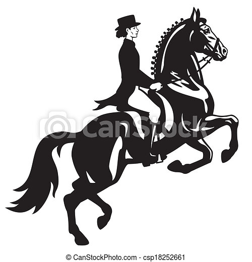 Dressage Clip Art and Stock Illustrations. 1,783 Dressage EPS ...