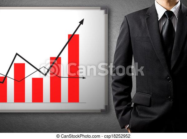 growth chart, success concept - csp18252952