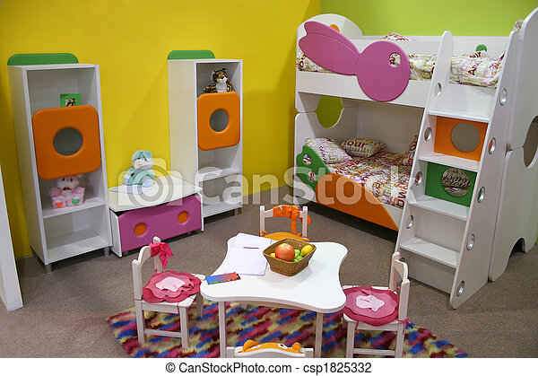 child room, playroom - csp1825332