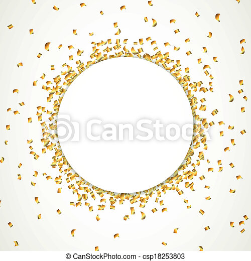 Party Confetti Drawing Vector Vector Party